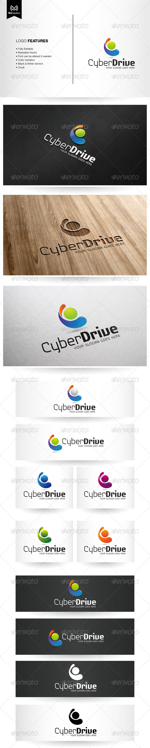 Abstract Letter C Logo - Vector Abstract