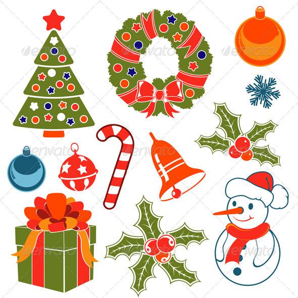 Christmas Icons - Christmas Seasons/Holidays