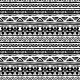 Striped Ethnic Pattern in Black and White - GraphicRiver Item for Sale