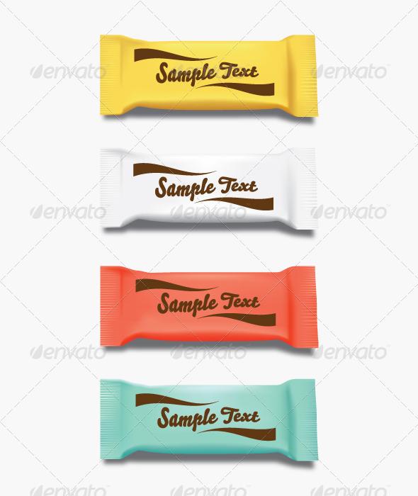 Warp packaging - Objects Vectors