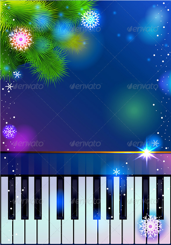 New Year Piano - New Year Seasons/Holidays