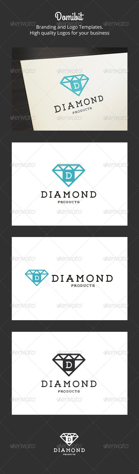 Diamond - Crest Logo - Crests Logo Templates