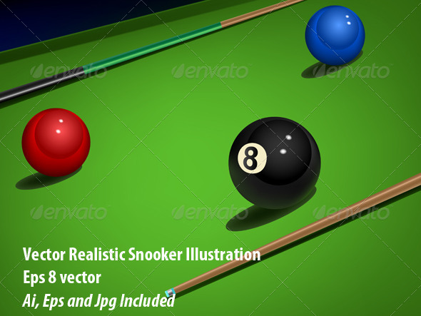 Snooker - Sports/Activity Conceptual