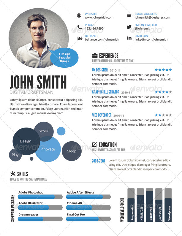 infographic style resume template resumes stationery 01_infographic_resume_prevjpg