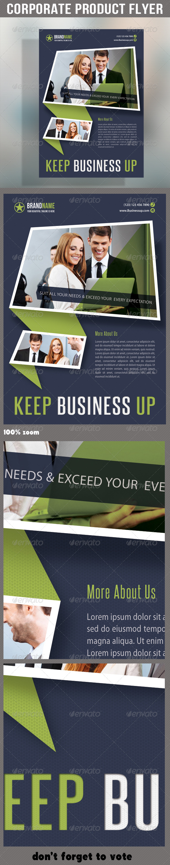 Corporate Product Flyer 52 - Corporate Flyers