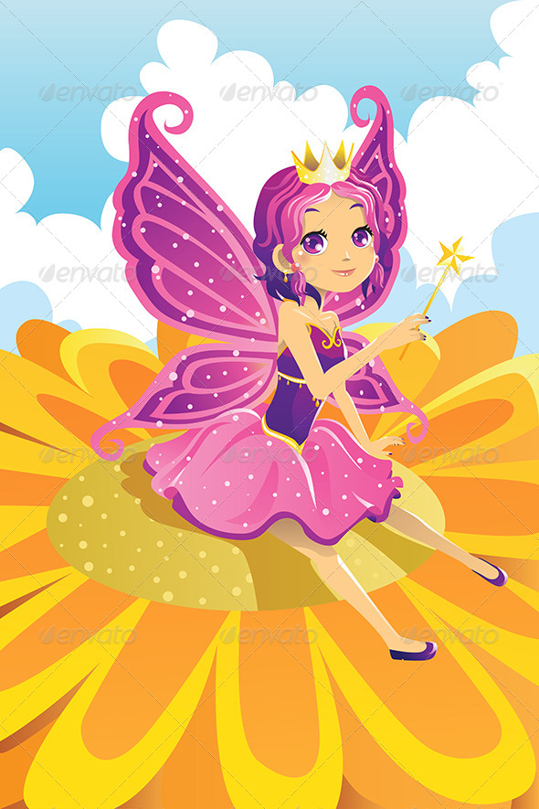 Fairy Princess - Characters Vectors