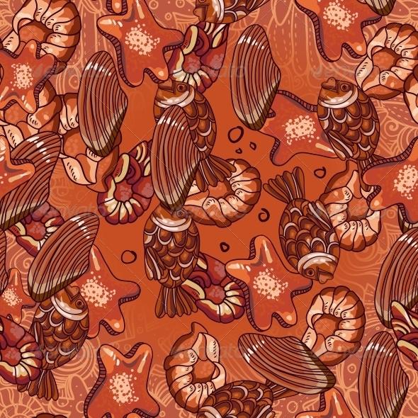 Seamless Chocolate Pattern - Patterns Decorative