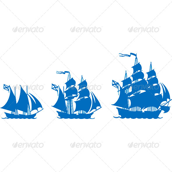 Sailboats - Travel Conceptual