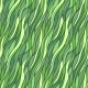 Seamless Hand-Drawn Pattern with Abstract Waves. - GraphicRiver Item for Sale