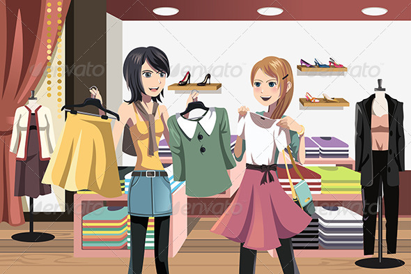 Shopping Women - Commercial / Shopping Conceptual