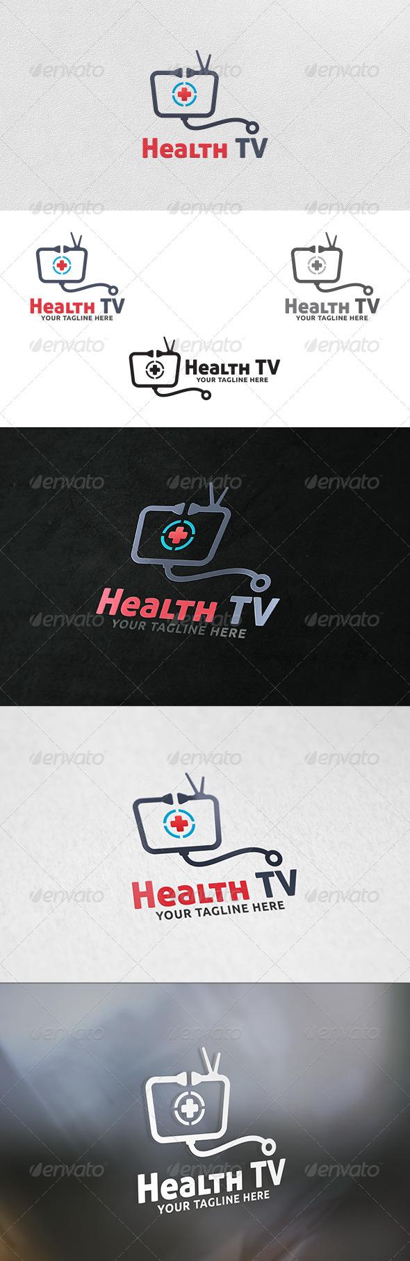 Health TV - Logo Template - Symbols Logo Templates