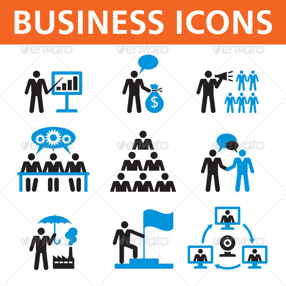 Business Vector Icons - Business Conceptual