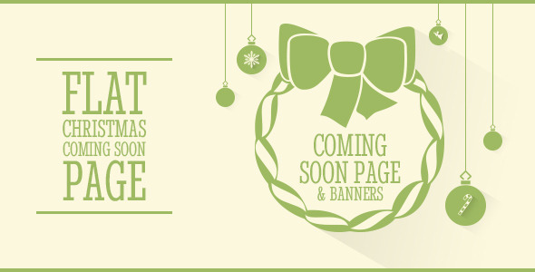 Clipsa - Christmas Coming Soon Page - Under Construction Specialty Pages