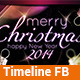 Simply Christmas - Timeline FB - GraphicRiver Item for Sale