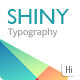 Download Shiny Typography Intro from VideHive