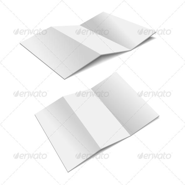 Folded Paper.  - Web Elements Vectors