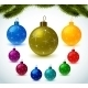 Christmas Colorful Balls - GraphicRiver Item for Sale