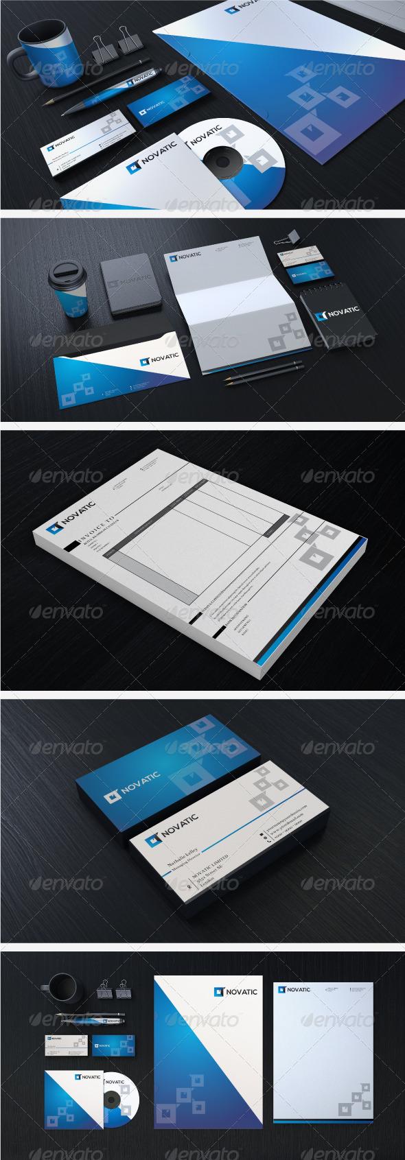 Creative Corporate Identity 07 - Stationery Print Templates
