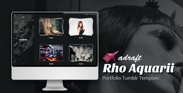 Rho Aquarii – Portfolio Tumblr Template