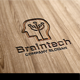 Brain Tech Logo - GraphicRiver Item for Sale