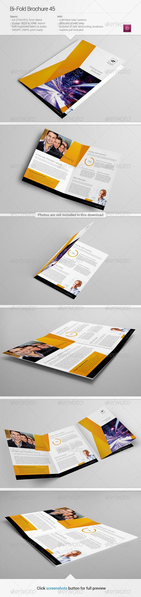 Bi-Fold Brochure 45 - Corporate Brochures