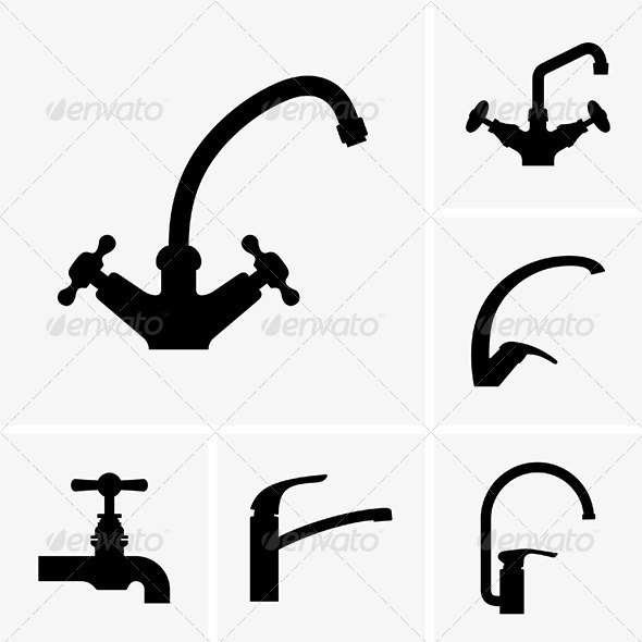 Water Taps - Man-made Objects Objects