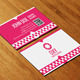 Checkered Business Card AN0079 - GraphicRiver Item for Sale