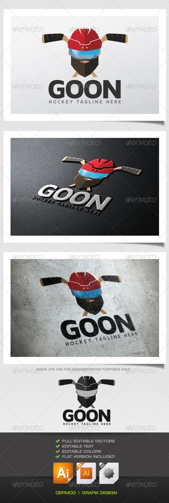 Goon Logo - Humans Logo Templates
