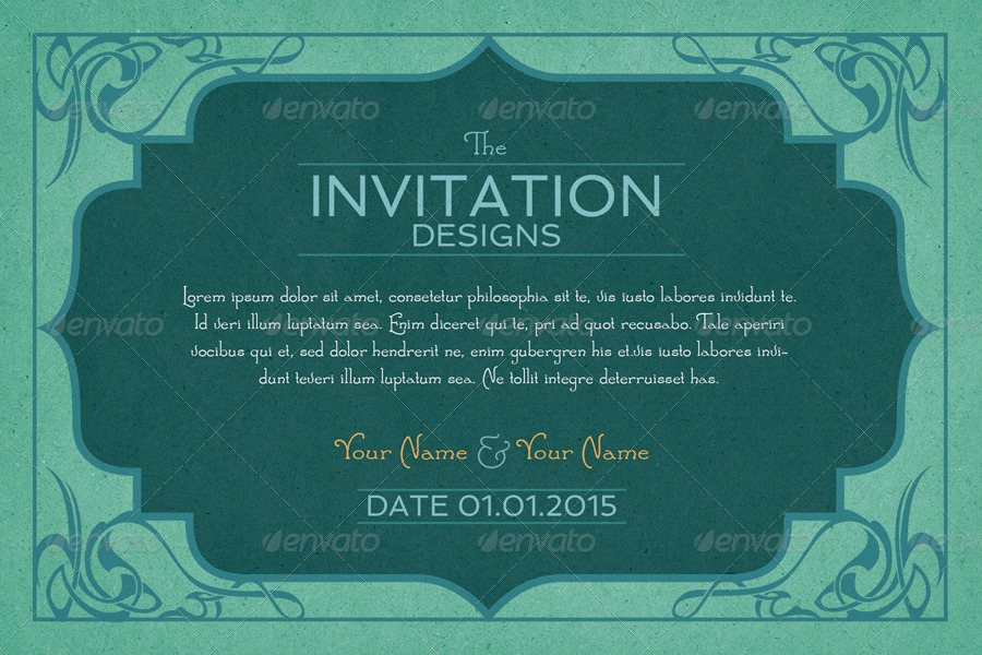 Invitation Card Backgrounds