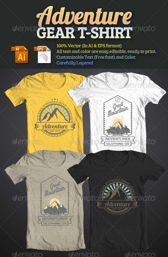 Adventure Gear T-Shirt - T-Shirts