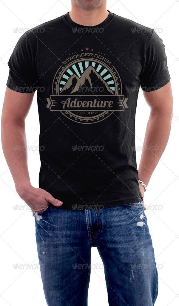 Adventure Gear T-Shirt by tiarprayoga | GraphicRiver