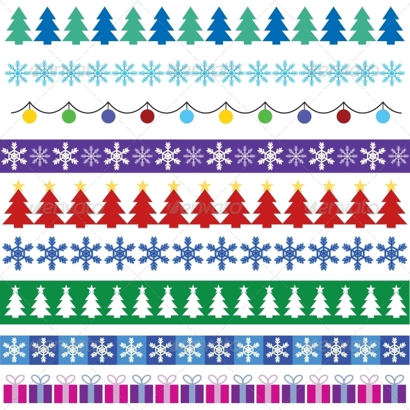 Christmas Borders - Borders Decorative