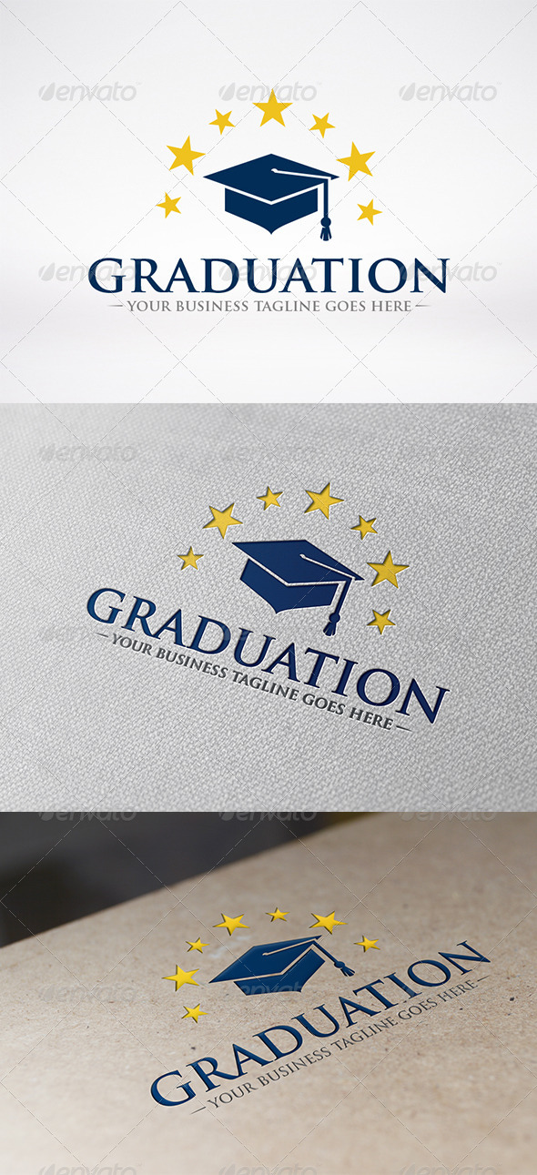 Graduate Logo Template - Objects Logo Templates