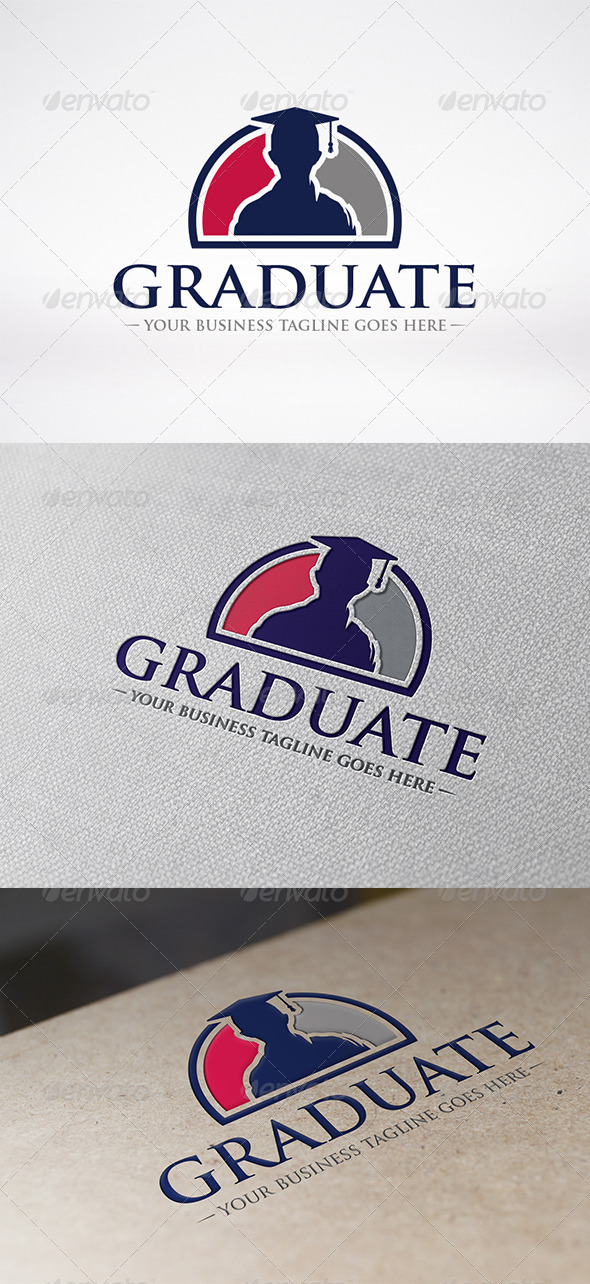 Graduated Logo Template - Humans Logo Templates