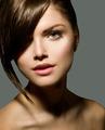 Stylish Fringe. Teenage Girl with Short Hair Style - PhotoDune Item for Sale