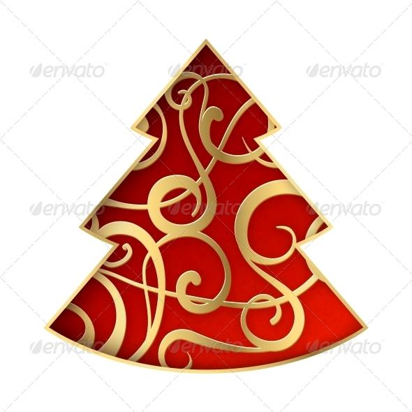 Fantasy Fir Tree - Christmas Seasons/Holidays