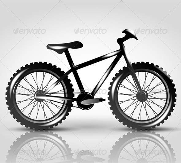 Vector Bike - Sports/Activity Conceptual