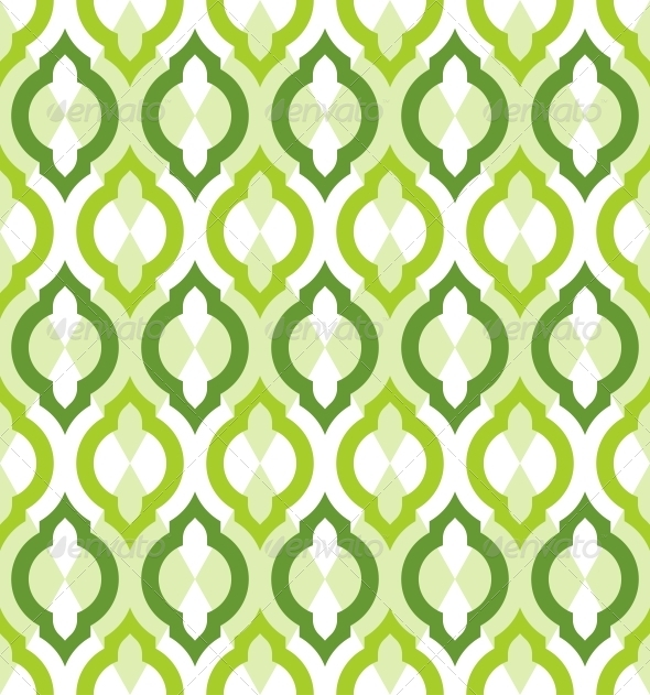 Vector Seamless Pattern Moroccan Style - Patterns Decorative