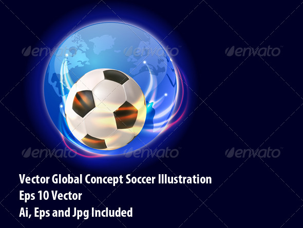 Soccer World - Sports/Activity Conceptual