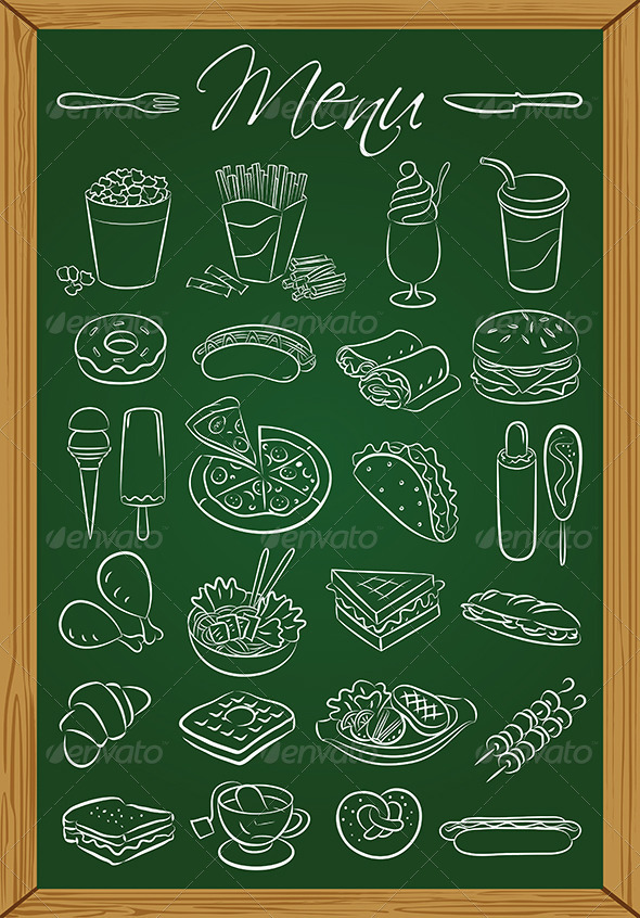 Food Menu - Food Objects