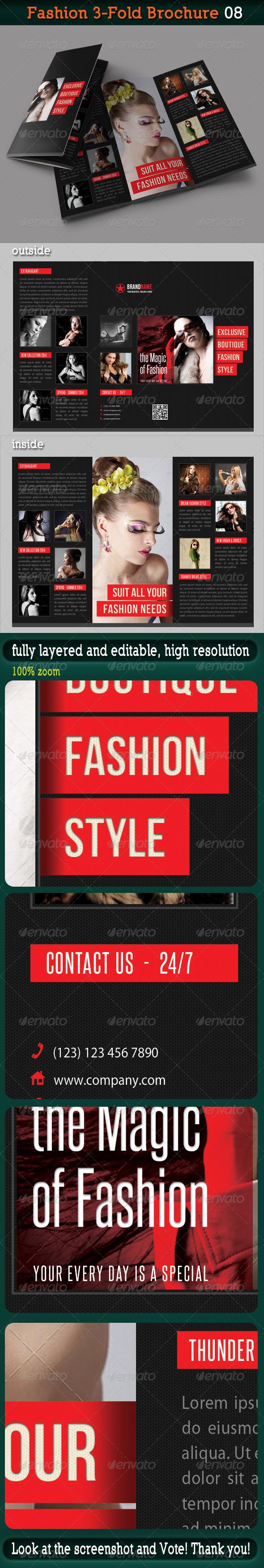 Fashion 3-Fold Brochure 08 - Catalogs Brochures