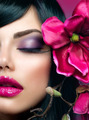 Perfect Holiday Makeup. Beauty Brunette Model Girl - PhotoDune Item for Sale
