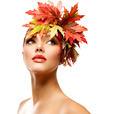 Autumn Woman Fashion Portrait. Beauty Autumn Girl - PhotoDune Item for Sale