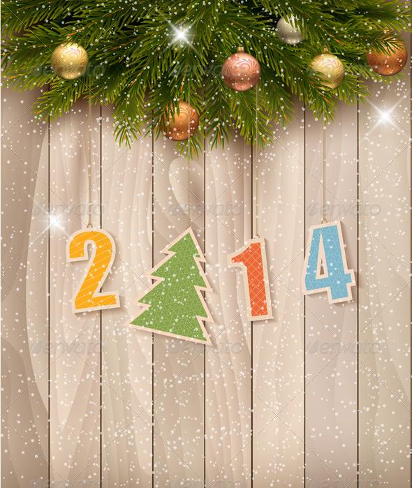 Happy New Year Background - Christmas Seasons/Holidays