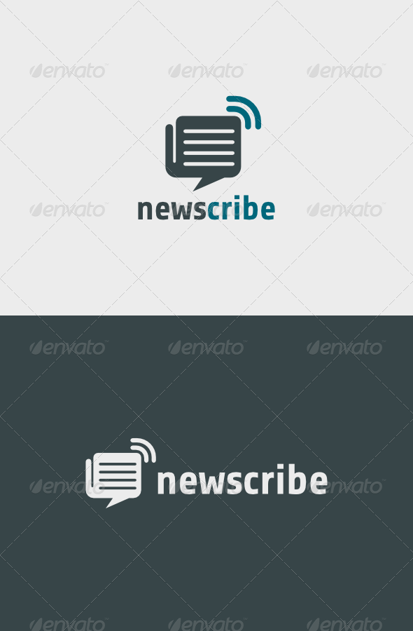 Newscribe Logo - Abstract Logo Templates