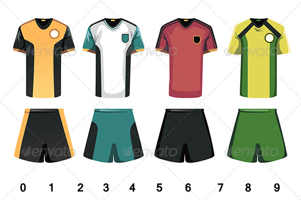 Soccer Jersey - Objects Vectors
