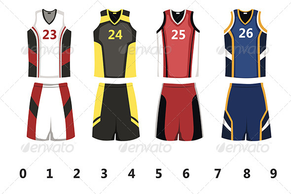 Basketball Jersey - Sports/Activity Conceptual
