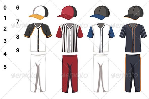 Baseball Jersey - Sports/Activity Conceptual