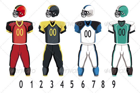 Football Jersey - Sports/Activity Conceptual