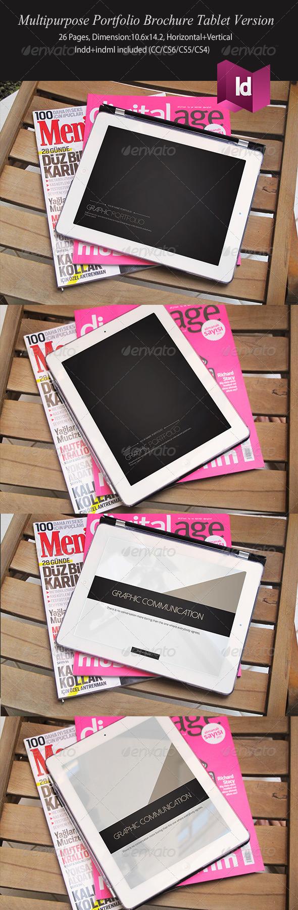 Multipurpose Portfolio Brochure Tablet Version - Digital Books ePublishing